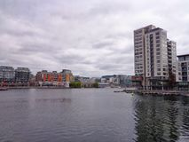 Grand Canal Quay. Dublin Stock Photo