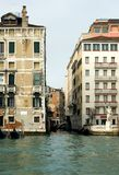 Grand Canal Scene, Venice, Italy Stock Photography