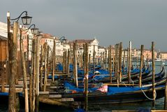 Grand Canal Scene, Venice, Italy Stock Photos