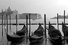 Grand Canal Scene, Venice, Italy Stock Images