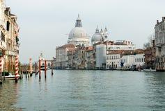 Grand Canal Scene, Venice, Italy Stock Photography