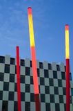 Grand Canal Square, Dublin Royalty Free Stock Images