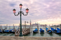 Grand Canal Sunset Royalty Free Stock Photography