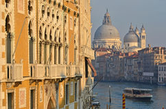 Grand Canal at Sunset, Venice Royalty Free Stock Image