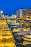 The Grand Canal in Trieste Stock Photos