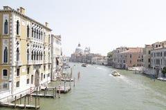 Grand Canal und Santa Maria della Salute, Venedig, Italien Lizenzfreie Stockfotografie