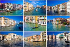 Grand Canal in Venedig lizenzfreies stockbild