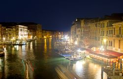 Grand Canal in Venedig, Italien lizenzfreie stockfotografie