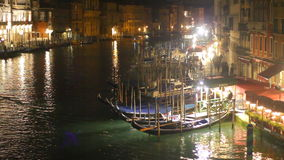 Grand Canal in Venetië stock videobeelden