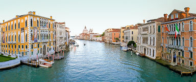 Grand Canal Venetië Royalty-vrije Stock Afbeelding