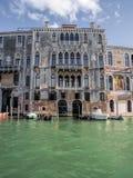 Grand Canal Venetië Stock Foto's