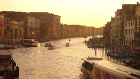 Grand Canal a Venezia stock footage