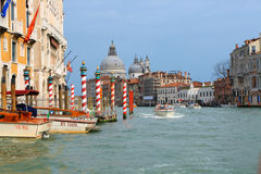 Grand Canal a Venezia Immagine Stock