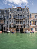Grand Canal Venezia Fotografie Stock