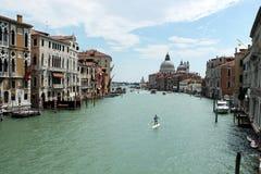 Grand Canal, Venezia, Italia Fotografia Stock Libera da Diritti