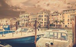 Grand Canal a Venezia, Italia Fotografia Stock