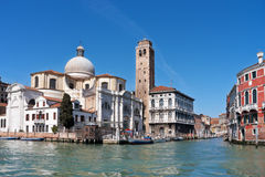Grand canal. Venice Stock Photo