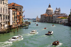 Grand Canal in Venice. Stock Images