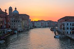 Grand canal Venice Stock Photos