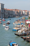 Grand Canal - Venice Royalty Free Stock Images