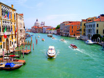 Grand Canal of Venice Royalty Free Stock Photography