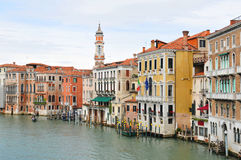 Grand Canal, Venice Royalty Free Stock Photo
