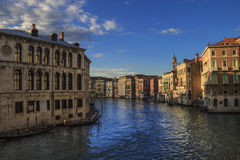 Grand Canal of Venice Stock Images