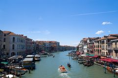 Grand canal of Venice. Italy Stock Photography