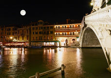 The Grand Canal in Venice Stock Images