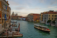 Grand Canal Venice Stock Photography