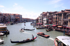 Grand Canal, Venice Stock Image