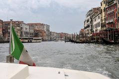 Grand Canal of Venice. Italy Royalty Free Stock Images