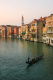 Grand Canal in Venice, Italy. Stock Photography