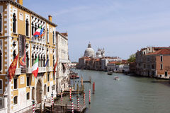 Grand Canal in Venice, Italy Stock Images