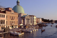 Grand Canal at Venice. Italy Royalty Free Stock Photos