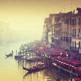 Grand Canal, Venice - Italy Royalty Free Stock Images