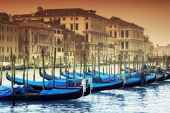 Grand Canal, Venice - Italy Royalty Free Stock Image