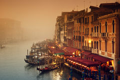 Grand Canal, Venice - Italy Royalty Free Stock Photo