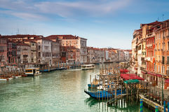 Grand Canal, Venice - Italy. Grand Canal at early morning Royalty Free Stock Photography