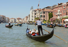 Grand Canal Venice Italy Royalty Free Stock Photo