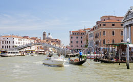 Grand Canal Venice Italy Stock Photos
