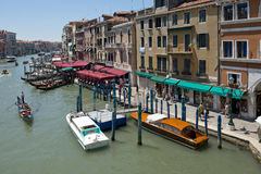 Grand Canal Venice Italy Stock Images