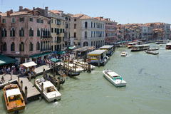 Grand Canal Venice Italy Stock Photography