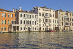 Grand Canal in Venice (Italy) Royalty Free Stock Photos
