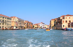 Grand Canal of Venice, Italy. Stock Image