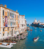 Grand Canal, Venice Italy Royalty Free Stock Photos