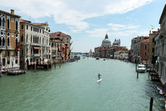 Grand Canal, Venice, Italy. Grand Canal in Venice, Italy Royalty Free Stock Photo