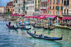 The Grand Canal, Venice Stock Images