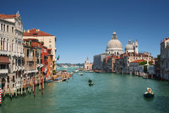 Grand Canal in Venice, Italy. The Grand Canal in Venice, Italy Stock Photos