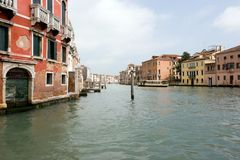 The Grand Canal, Venice Italy Stock Images